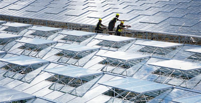 Image of glasshouse ventilation