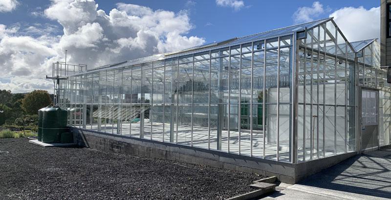 Image of greenhouse glazing