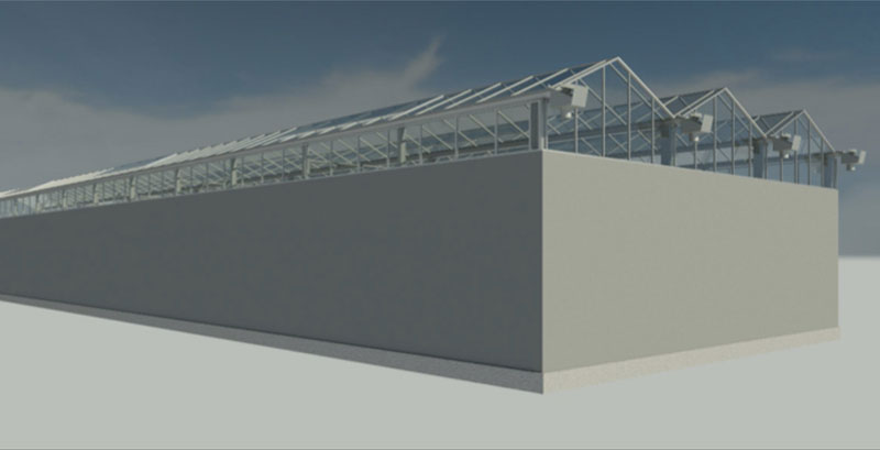 Image of greenhouse facility