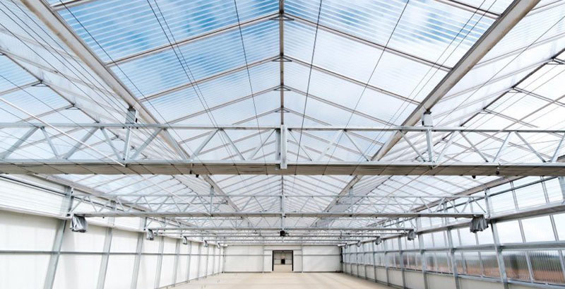Image of glasshouse Twinwall Panels