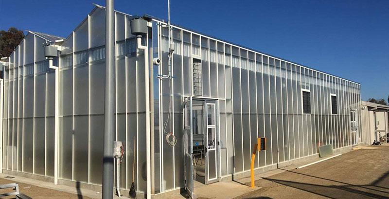 Image of greenhouse ventilation