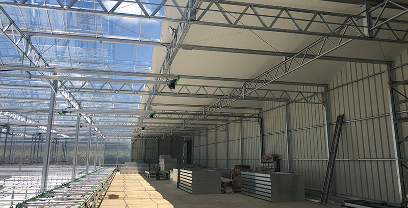 Image of production shed structure